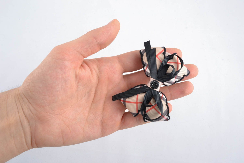 American bows made of ribbons photo 4
