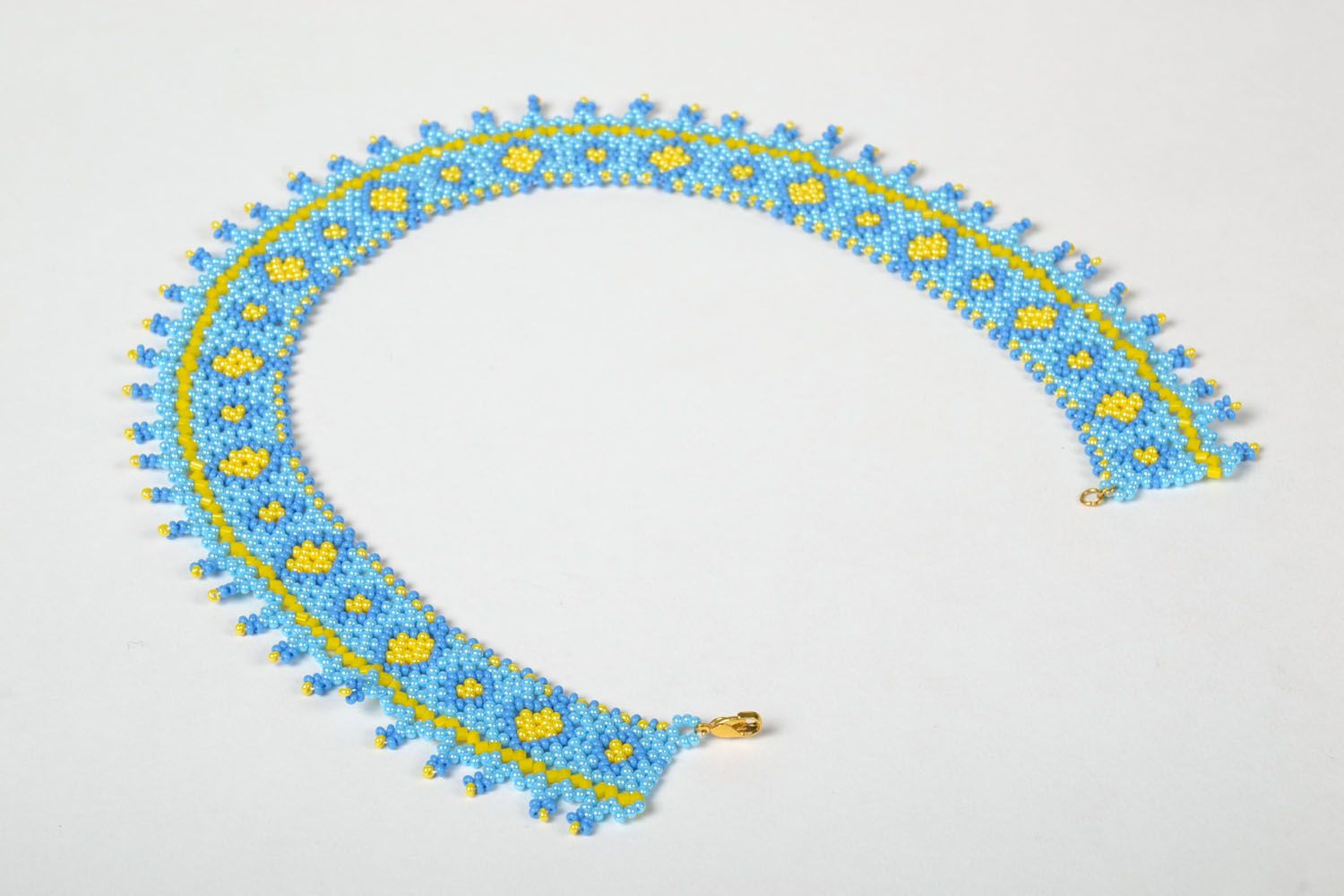 Beaded necklace Spring photo 4