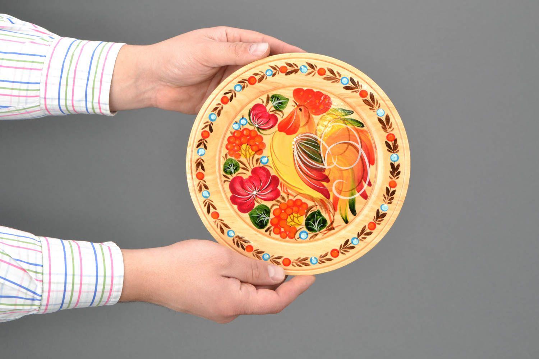 Как сделать свой рисунок на тарелке