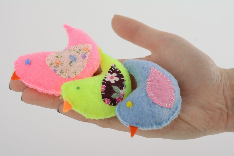 Set of soft toys Birdies photo 4
