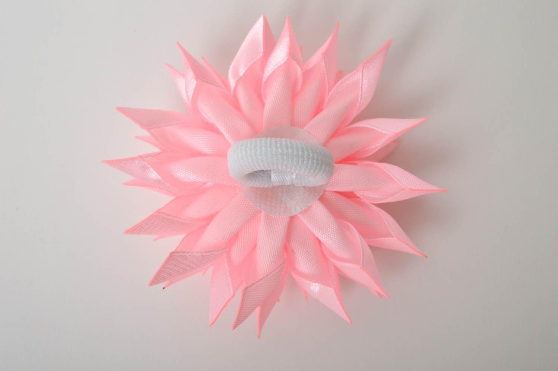 Украшение на голову ручной работы резинка с цветком украшение для волос фото 4