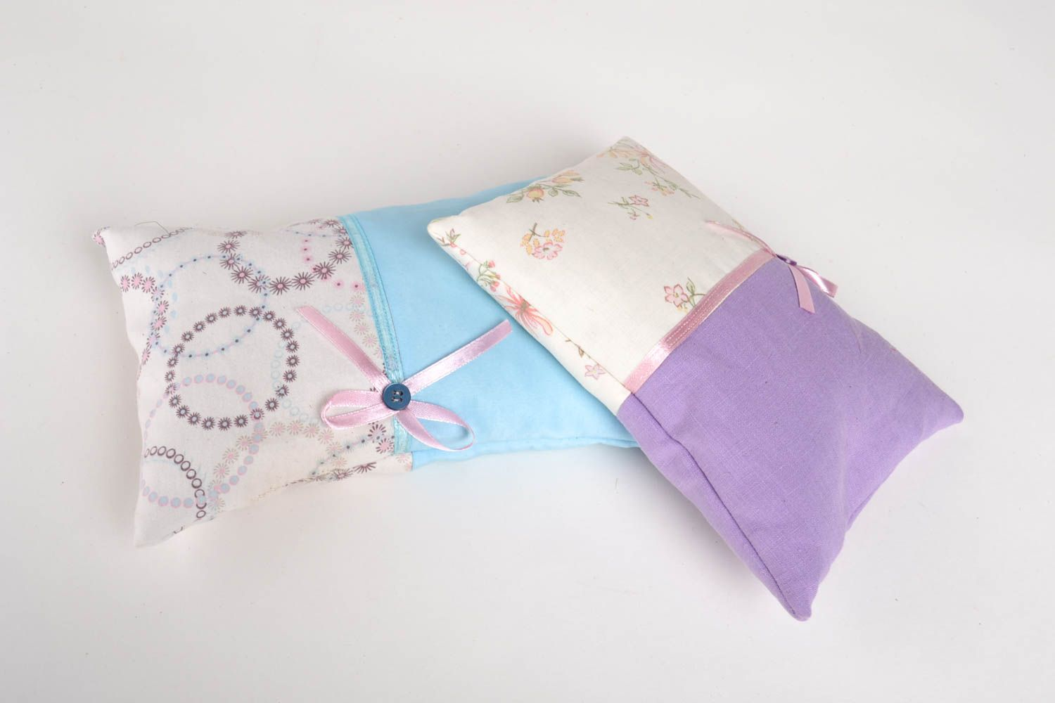 Homemade home decor 2 sachet pillows scented sachets homemade gifts for friends photo 4