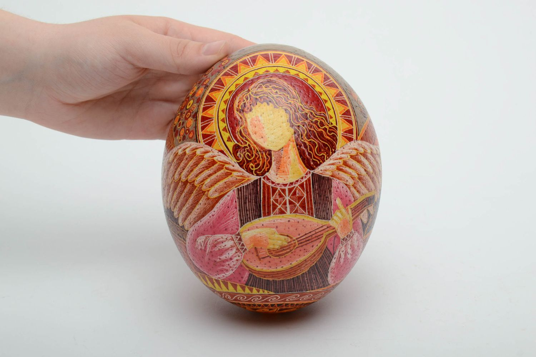 ostrich easter eggs Handmade pysanka based on ostrich egg - MADEheart.com