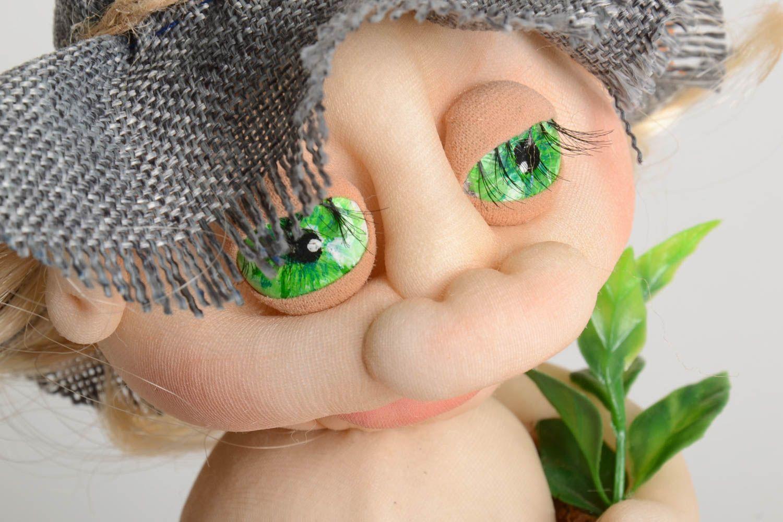 Unusual handmade soft toy rag doll stuffed toy cool bedrooms room decor ideas photo 3