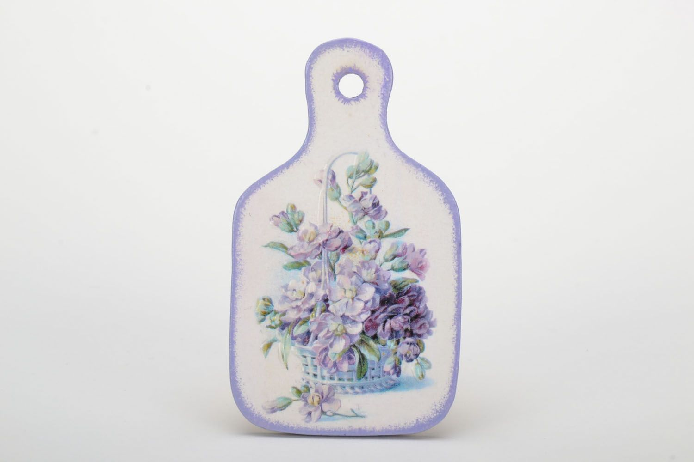 Fridge magnet in Provence style Flower Basket photo 2