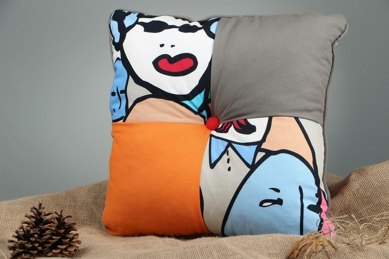 Handmade pillow  - MADEheart.com