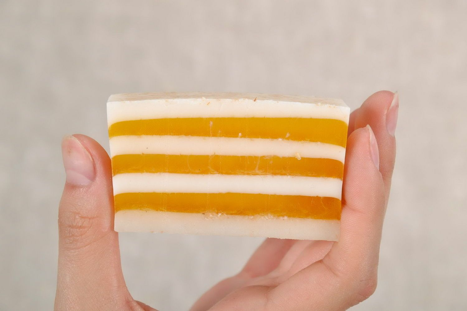 Loaf soap with seaberry oil photo 3