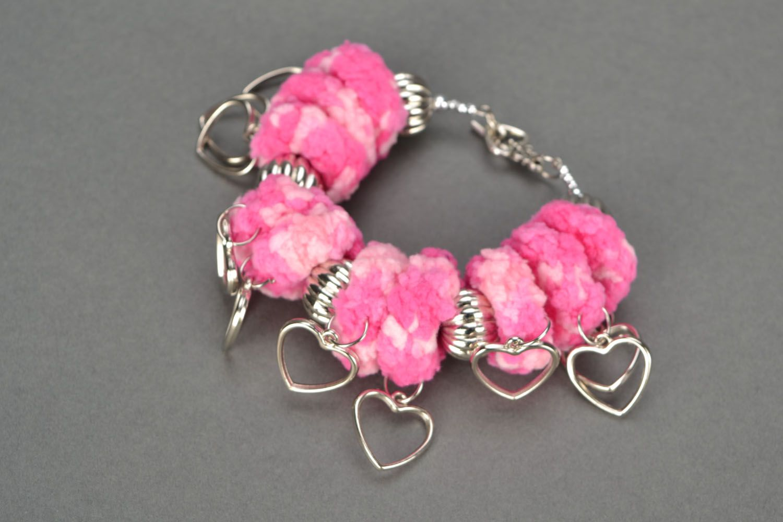 Crochet jewelry set photo 4