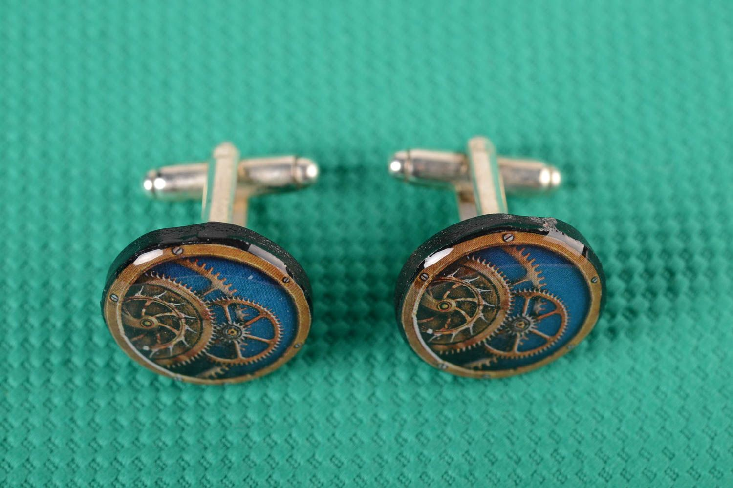 cufflinks Interesting French cuffs for men unusual shirt accessory for women designer gift - MADEheart.com