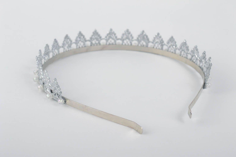 Tiara Haarreif handmade Haar Accessoire Geschenk für Mädchen und Damen foto 4