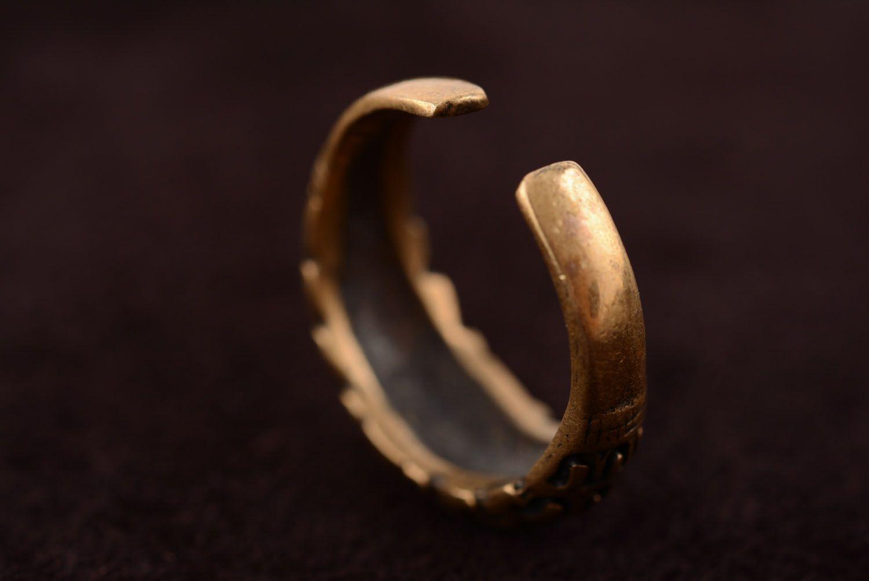 Bronze ring Scandinavia photo 5