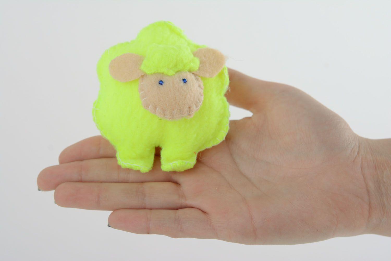 Fleece toy Yellow Lamb photo 4