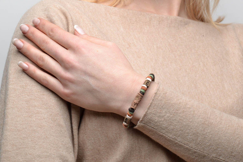 Ethno Armband handgemacht foto 2