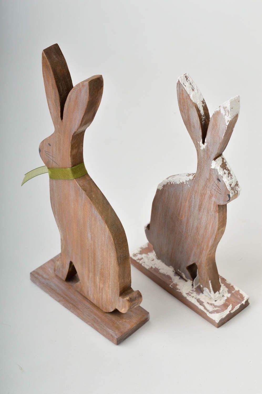 madeheart figurines lapins faites main statuettes d co. Black Bedroom Furniture Sets. Home Design Ideas