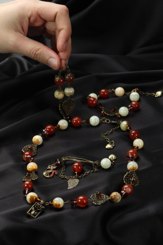 Jewelry set Buckthorn photo 4
