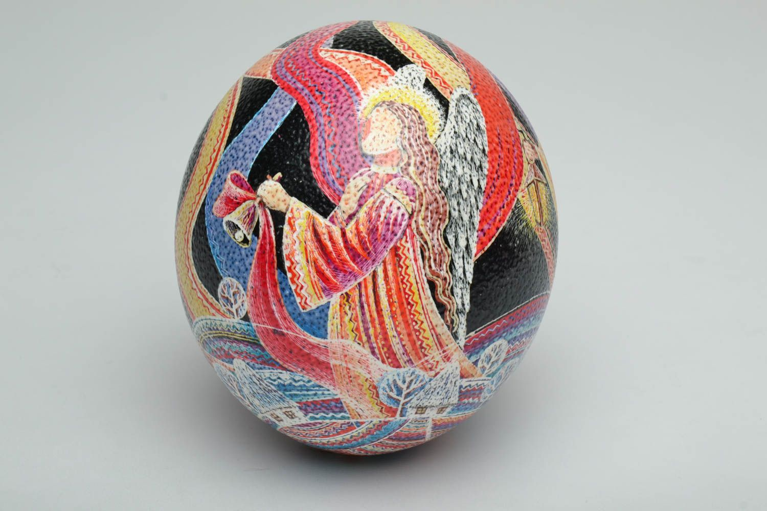 ostrich easter eggs Designer painted ostrich egg - MADEheart.com