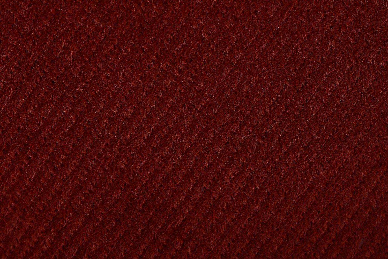 Brown handmade interior tray cushion made of velvet and acrylic fabrics photo 4