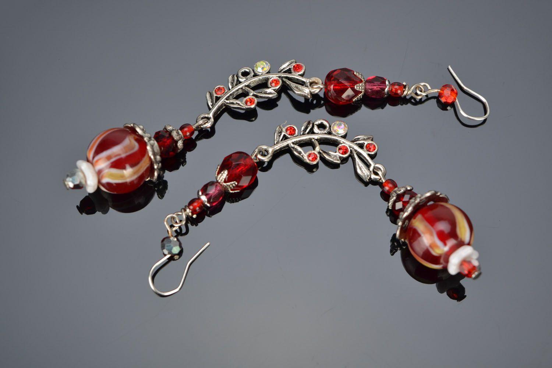 Handmade designer earrings photo 1