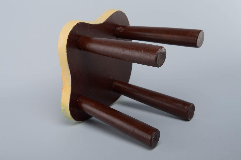 hangers and Coat Racks Wooden stool for children's room - MADEheart.com