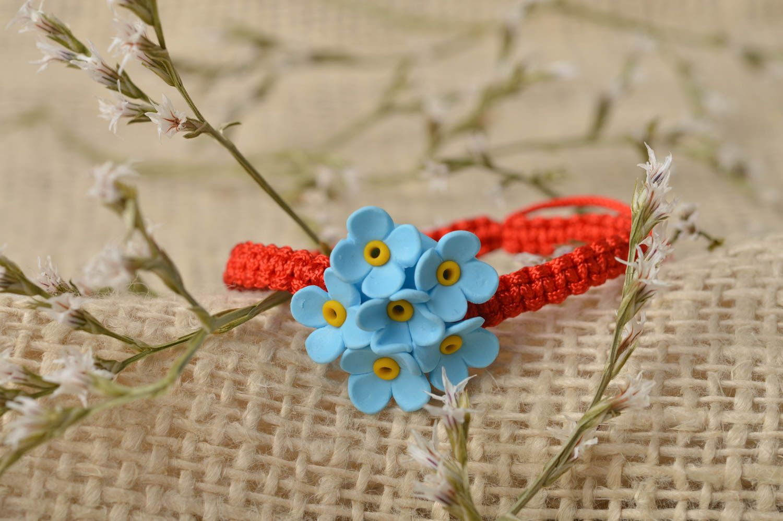 Handmade bracelet designer bracelet clay bracelet unusual jewelry gift ideas photo 1