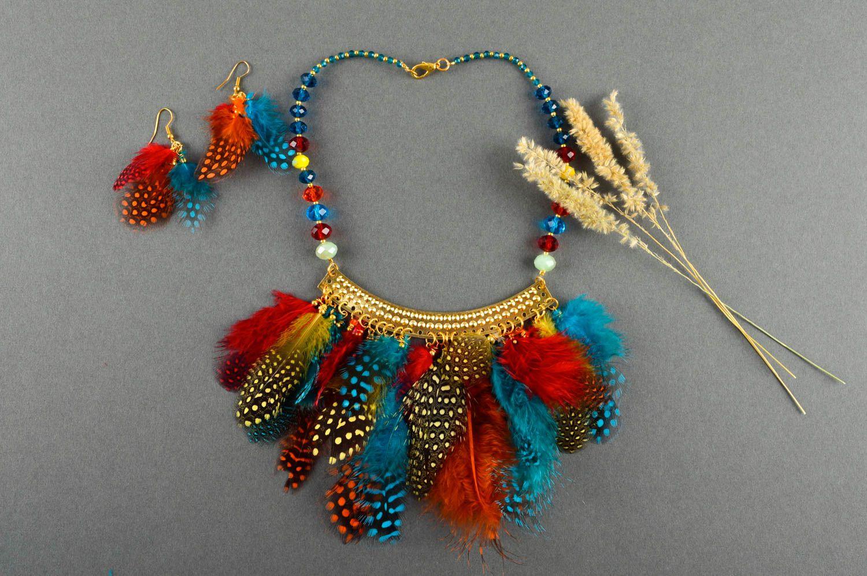 Handmade stylish jewelry elite designer accessories feminine cute present photo 1