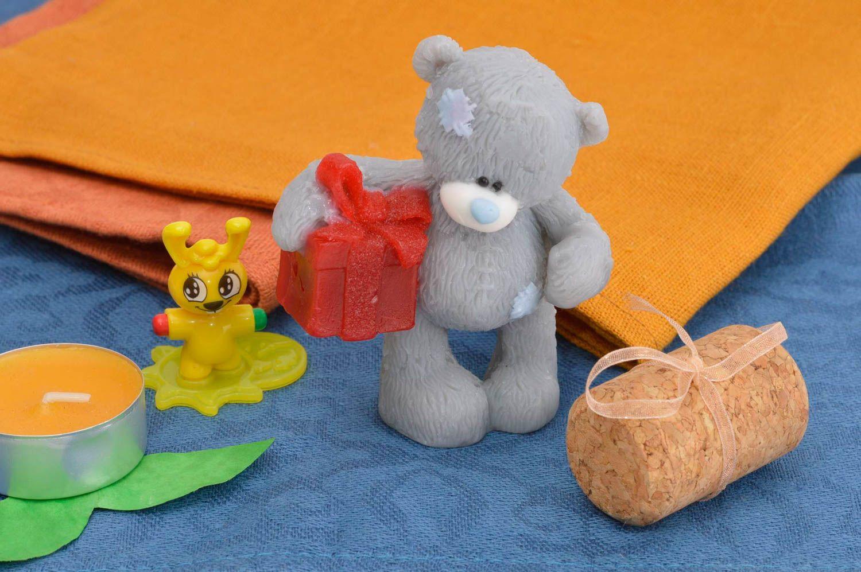 Handmade designer home soap unusual bath soap for kids cute interior decor photo 1