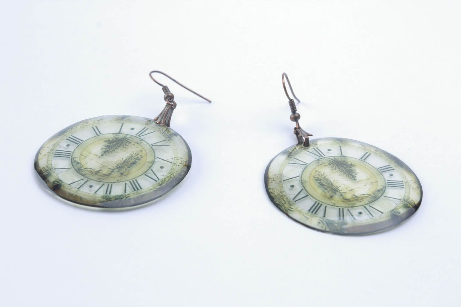 Epoxy earrings  photo 3
