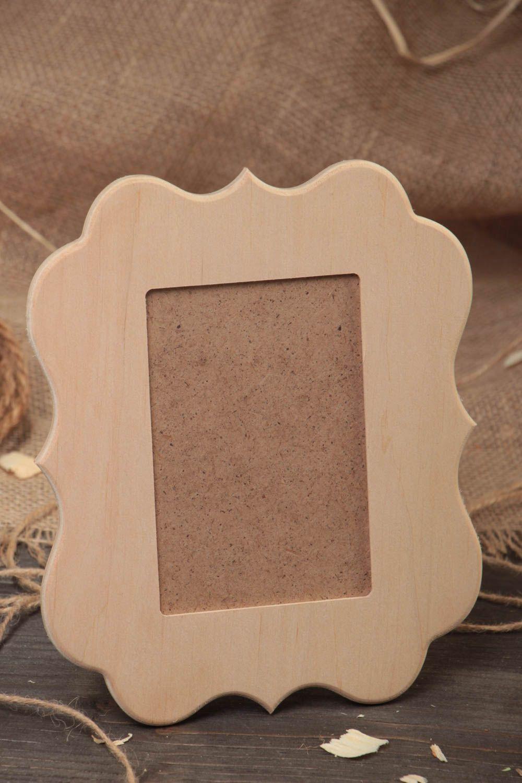 Madeheart pieza para manualidades hecha a mano de contrachapado marco de fotos - Manualidades marco fotos ...