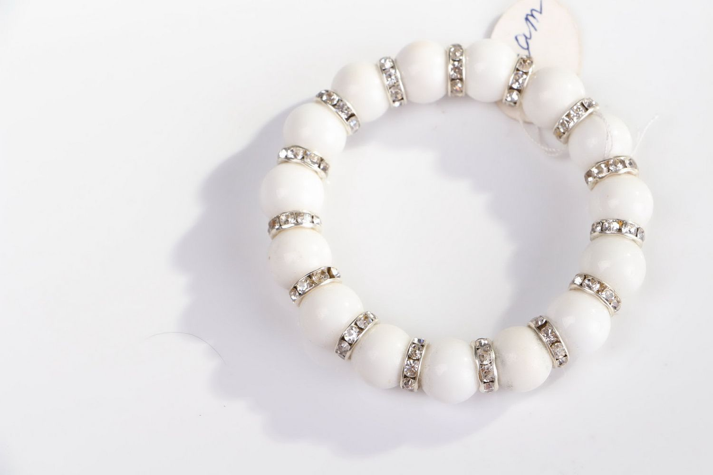 Bracelet with elastic band photo 3