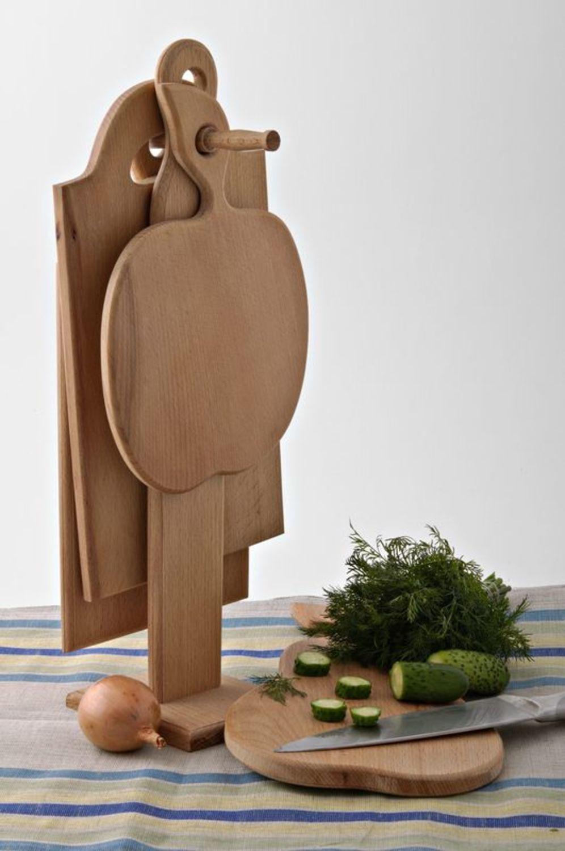 Подставка из деревянной доски своими руками