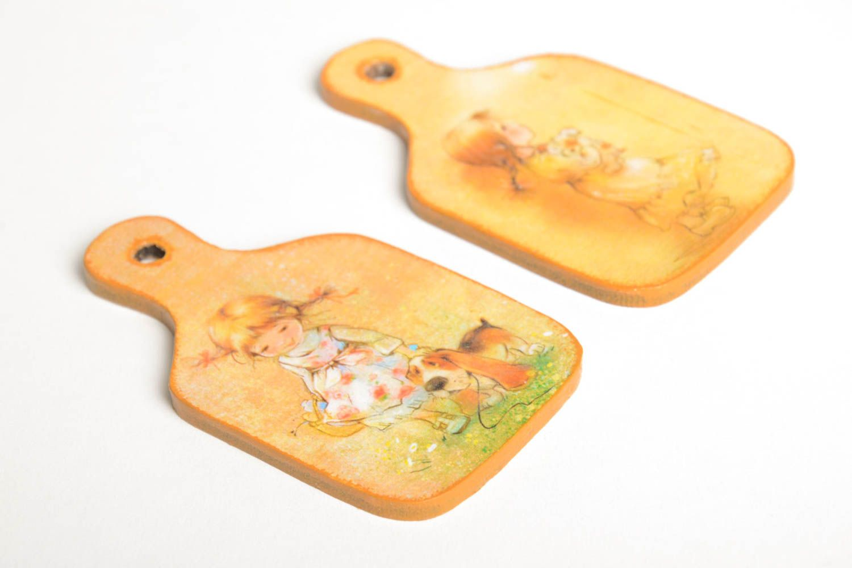 Beautiful souvenir magnets unusual handmade accessories decorative present photo 5