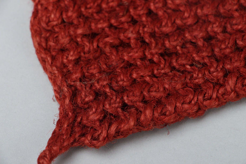Hand crochet body scrubber  photo 3
