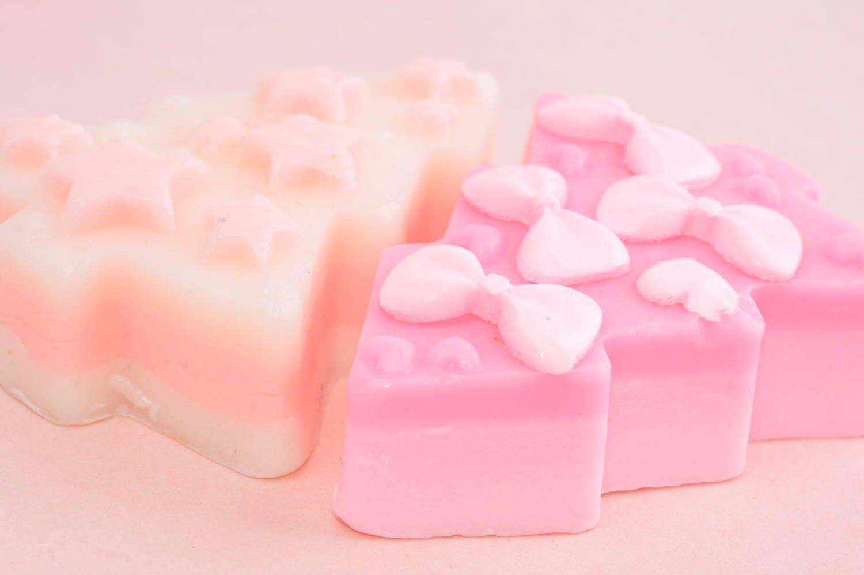 Decorative soap bath decor homemade soap natural cosmetics natural soap for girl photo 3