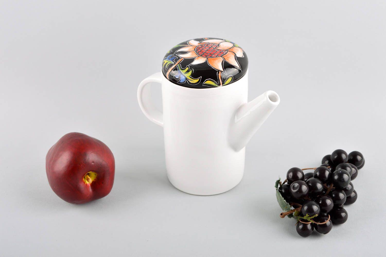 tea pots and coffee pots Handmade teapot tea tableware clay teapot ceramic teapot unusual souvenir - MADEheart.com