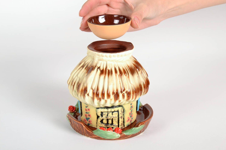Clay oil lamp House photo 2