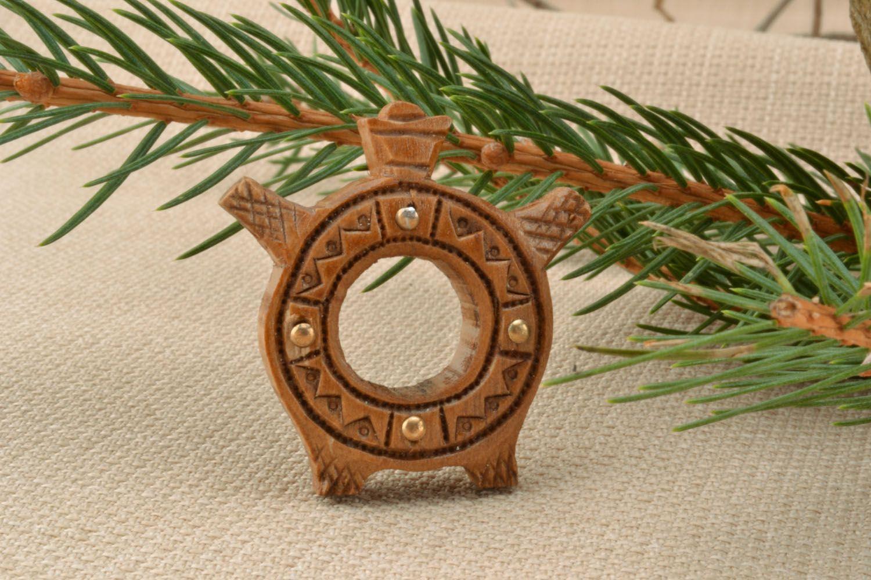 Ethnic pendant in the shape of jug photo 1