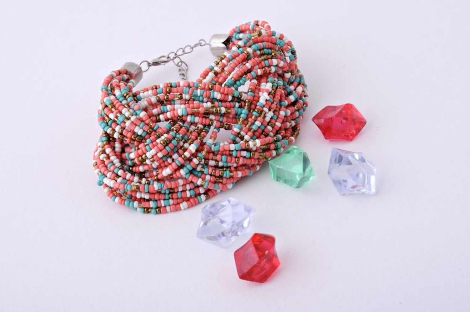 Multi-layer beaded bracelet photo 1