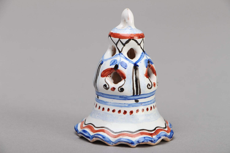 Unusual ceramic bell photo 1