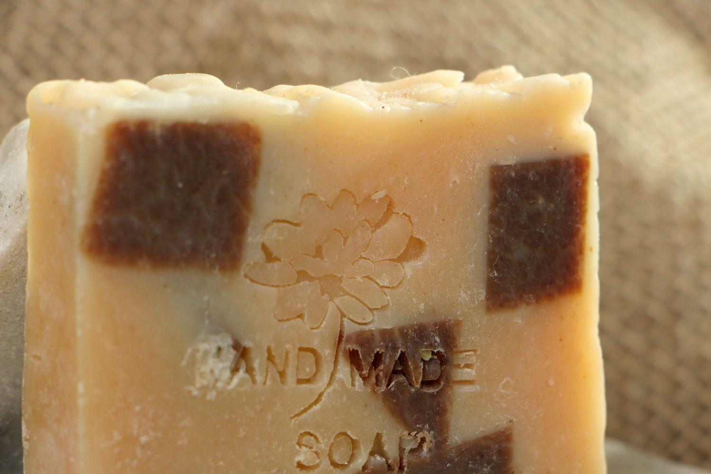 Handmade soap with pumpkin oil photo 4