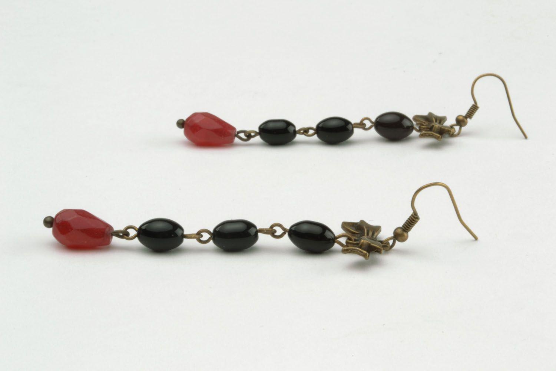 Long earrings-pendants photo 3