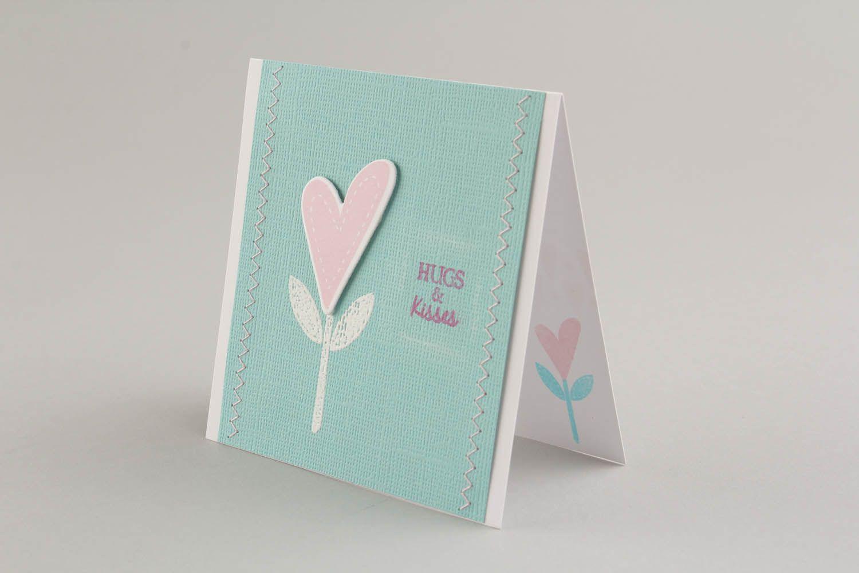 Postcard Hugs and kisses photo 3
