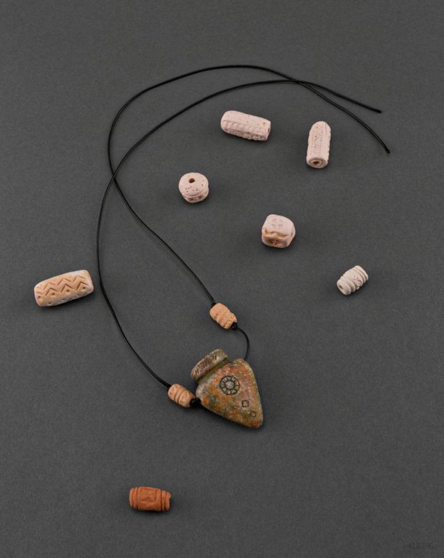 Ceramic pendant Amphora photo 3