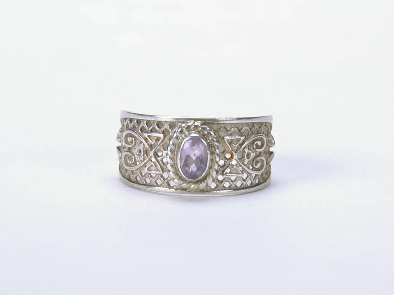 Handmade silver ring  photo 3