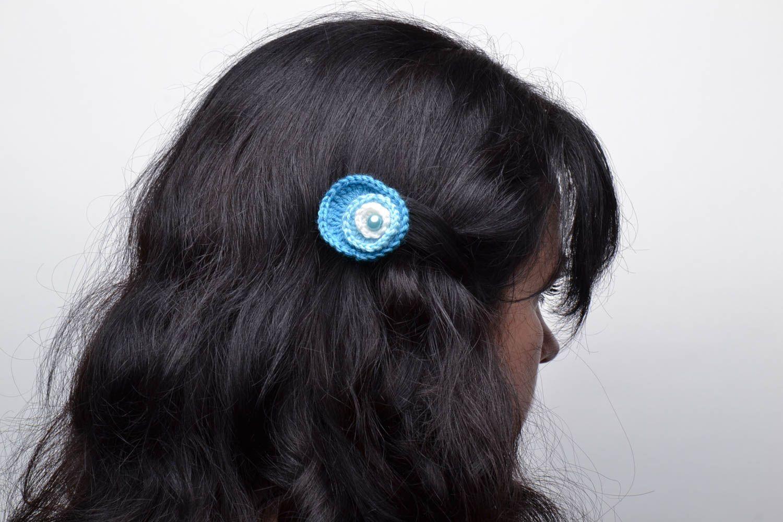 Blaue Haarspangen Set foto 5