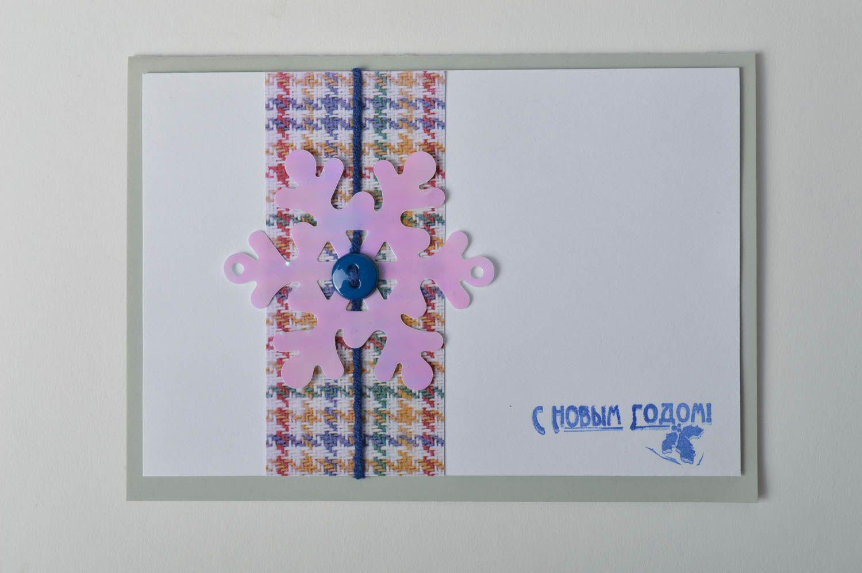 Handmade Christmas card homemade cards New Year greeting card souvenir ideas photo 2