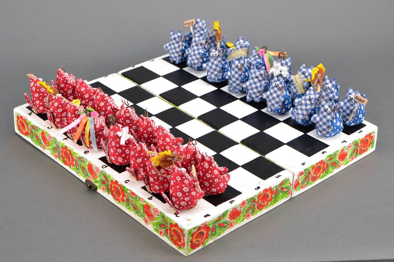 Unique designer chess set photo 3