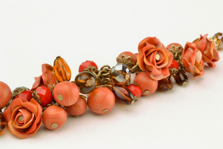 Set of polymer clay jewelry photo 5