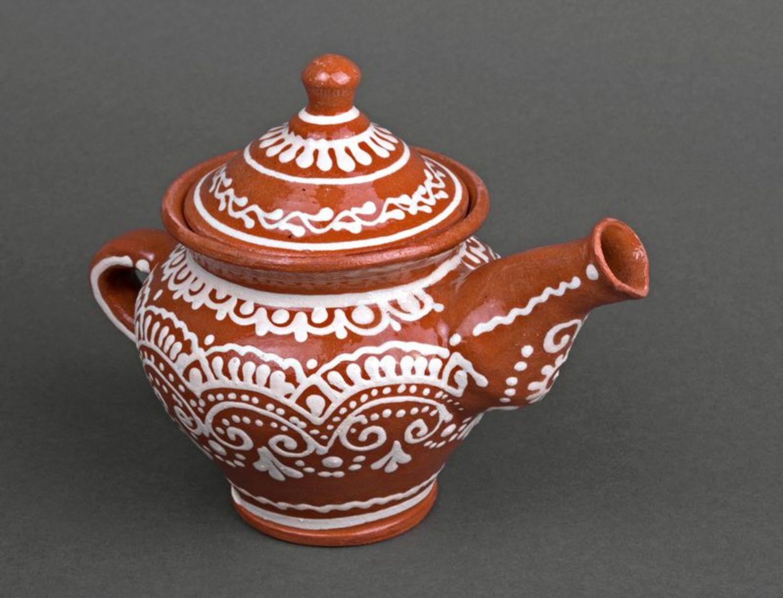Clay teapot photo 4