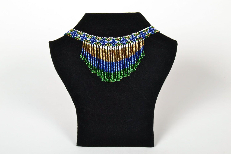 Homemade beaded necklace photo 1