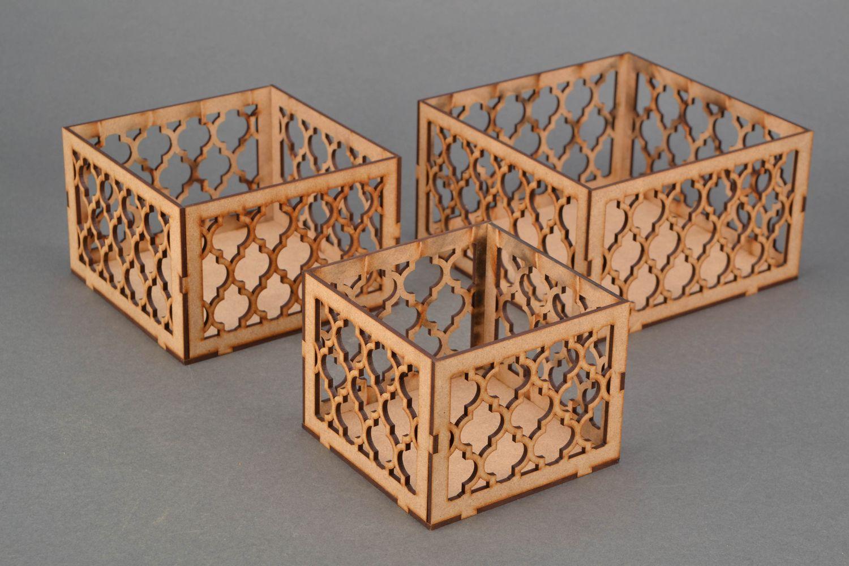 Madeheart cajas decorativas para decorar caladas - Cajas decorativas para almacenar ...